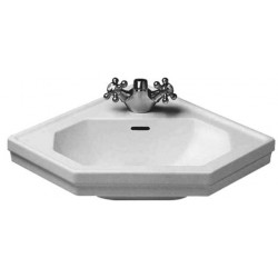 "DURAVIT 1930 Lave-mains  ANGLE ""1930""   BLANC  WO"