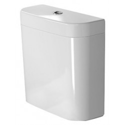 "DURAVIT Happy D.2 RESERVOIR EQUIPE Happy D.2 BLANC MEC.4,5/3L,DT,3/8"",ALIM.DESSOUS"