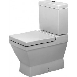 DURAVIT 2nd floor Staande-WC 66 cm 2nd floor wit afvoer Vario,diepsp.,v.Reservoir