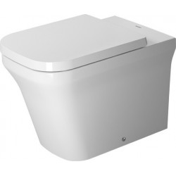 DURAVIT P3 Comforts cuvette s/PIED 600mm P3 Comforts, BLANC FC, SH., rimless, BTW, HyG