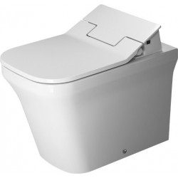 DURAVIT P3 Comforts cuvette s/PIED 600mm P3 Comforts BLANC FC, SH., rimless, BTW, WGL