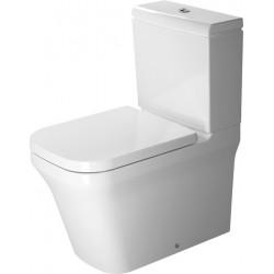 DURAVIT P3 Comforts cuvette s/PIED Kombi 650mm P3 Comforts BLANC, FC, Vario