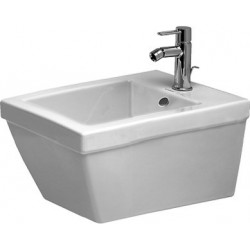 DURAVIT 2nd floor Bidet  suspendu  P 2ND FLOOR 54CM BLANC DURAFIX  WONDERGLISS