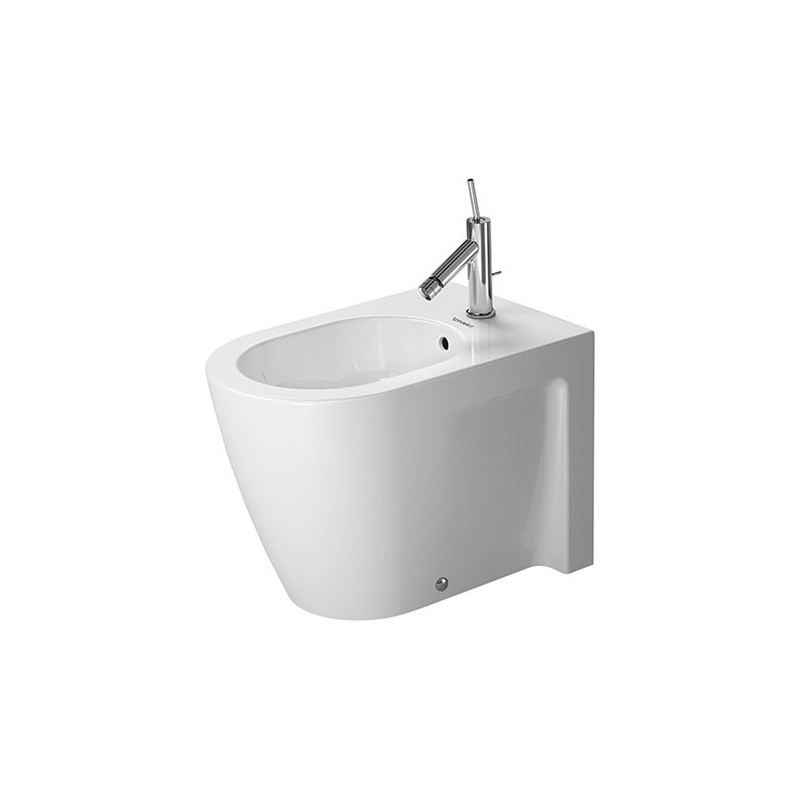 duravit starck 2 bidet 57 cm starck 2 blanc wondergliss. Black Bedroom Furniture Sets. Home Design Ideas
