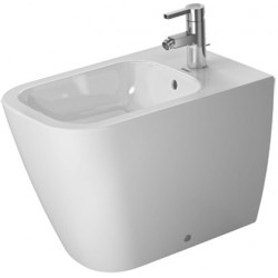 DURAVIT Happy D.2 Bidet  s/PIED 57 cm Happy D.2 BLANC BACK TO WALL