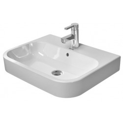 DURAVIT Happy D.2 VASQUE àPOSER 600mm Happy D.2 blanc av. TP, av. PdR, sans TR, meulé,WGL