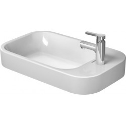 DURAVIT Happy D.2 Vasque  A POSER 65 cm Happy D.2 BLANC PLAGE ROB. LAT., WGL