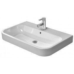 DURAVIT Happy D.2 Lavabo  p.MEUBLE 80 cm Happy D.2 BLANC, 3 TR, WGL