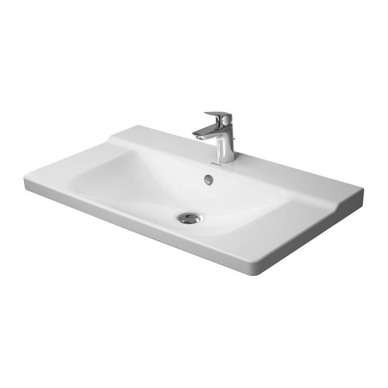 duravit p3 comforts lavabo p meuble 850mm p3 comforts blanc av tp av pdr 1 tr 2332850000. Black Bedroom Furniture Sets. Home Design Ideas