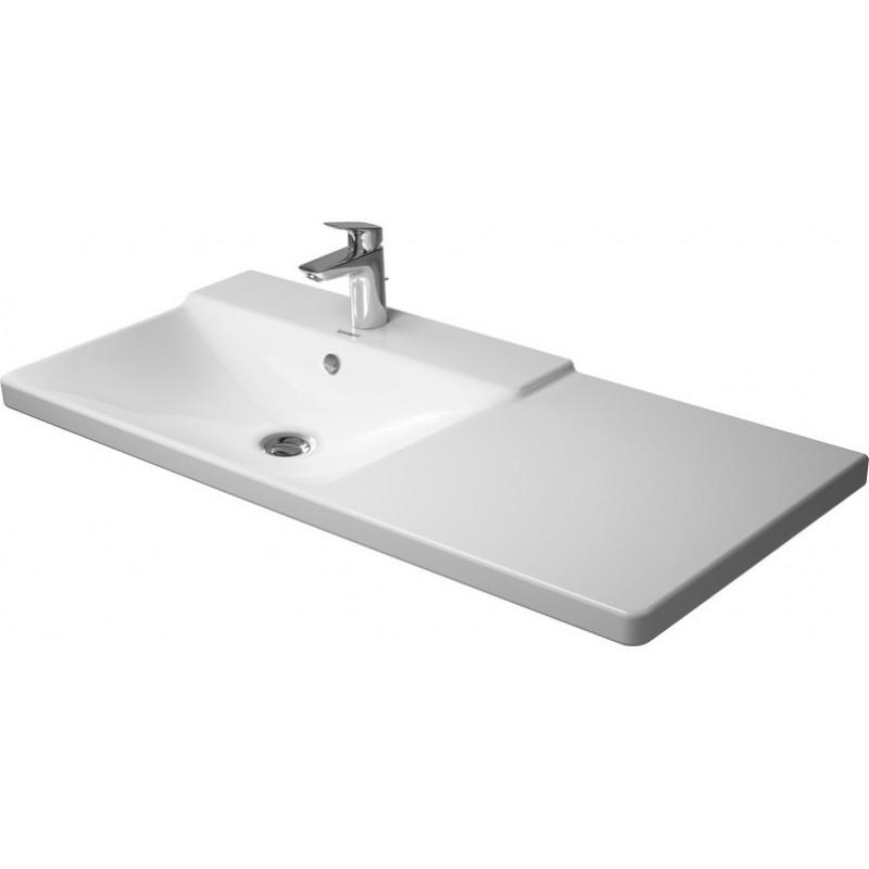 duravit p3 comforts lavabo p meuble 1050mm p3 comforts blanc bac g av tp av pdr 1 tr wgl. Black Bedroom Furniture Sets. Home Design Ideas
