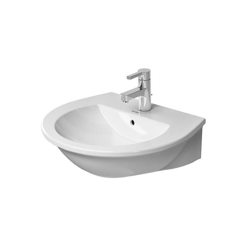 duravit darling new lavabo 55 darling new 3tr blanc. Black Bedroom Furniture Sets. Home Design Ideas