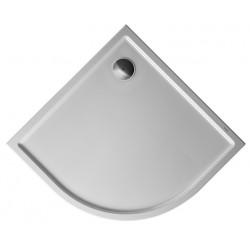DURAVIT Starck RECEVEUR Starck Slimline BLANC 900x900mm, 1/4 DE ROND R55,Antislip