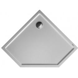 DURAVIT Starck RECEVEUR Starck Slimline 900x900mm, BLANC, PENTAGONAL
