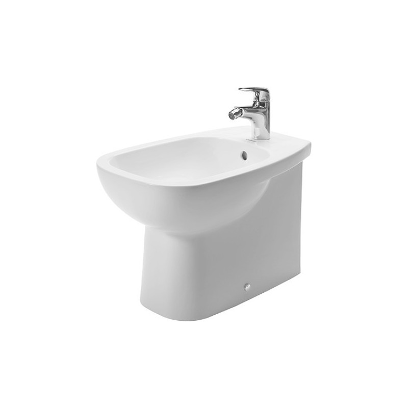 duravit d code bidet 56 d code vario blanc 22411000002. Black Bedroom Furniture Sets. Home Design Ideas