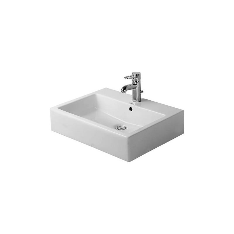 Duravit Vero Vasque A Poser 500mm Vero Blanc Meule Emaille