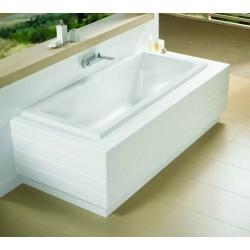 riho lusso 190x80 blanc brillant ba59005. Black Bedroom Furniture Sets. Home Design Ideas
