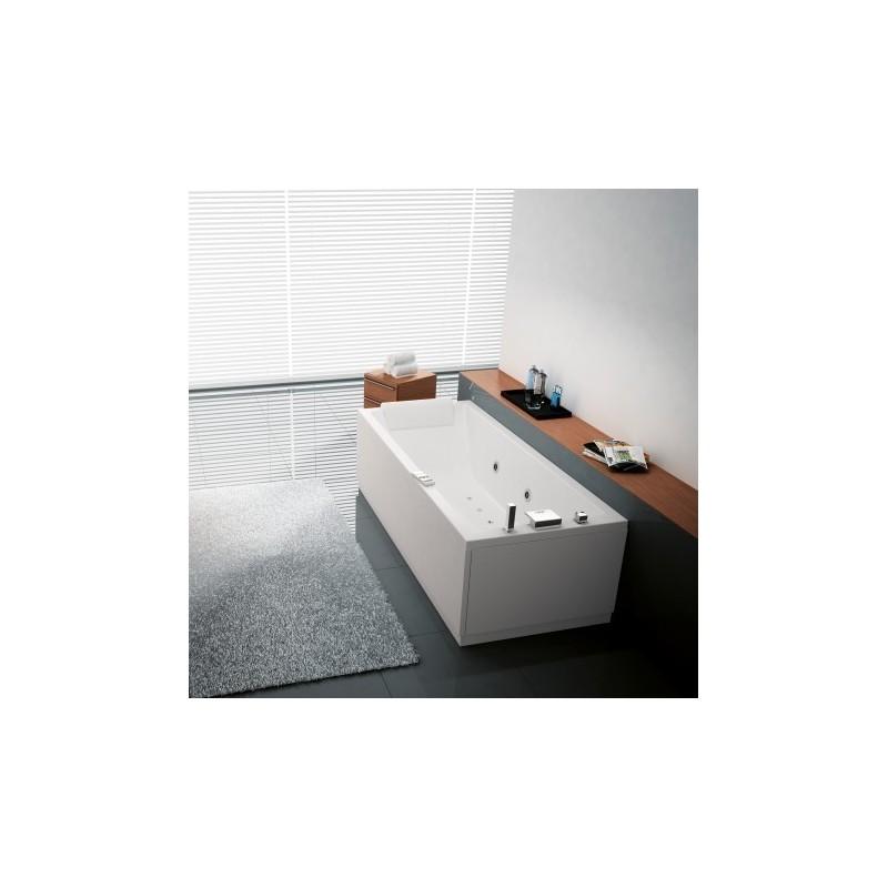 novellini calos 170x70 whirlpool hydrojet et airjet t l commande touch screen vidange. Black Bedroom Furniture Sets. Home Design Ideas