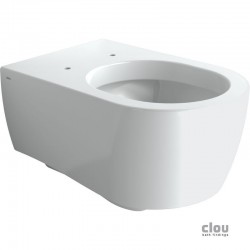clou First wandtoilet, wit keramiek