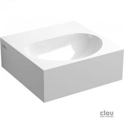 clou Flush 4 lave-mains avec 1 point d'amorçage et bonde libre, marble minéral