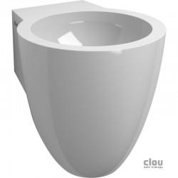 clou Flush 6 lave-mains avec 1 point d'amorçage, bonde libre et siphon, marbre minéral