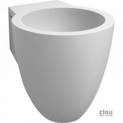 clou Flush 6 lave-mains avec 1 point d'amorçage, bonde libre et siphon, aluite