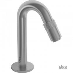 clou Freddo 9 robinet eau froide, Inox brossé