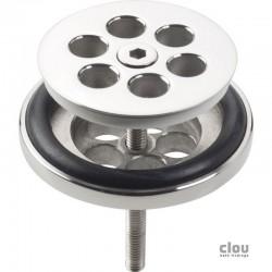 clou Mini Wash Me bonde, chrome pour emploi avec bouchon en silicone