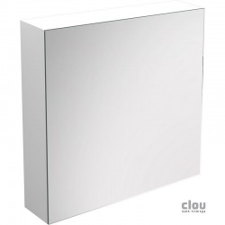 clou Match Me armoire miroir, ouvrant à gauche, laque blanche brillante