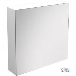 clou Match Me armoire miroir, ouvrant à droite, laque blanche brillante