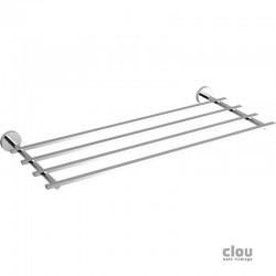 clou Flat porte-serviette étagère, chrome