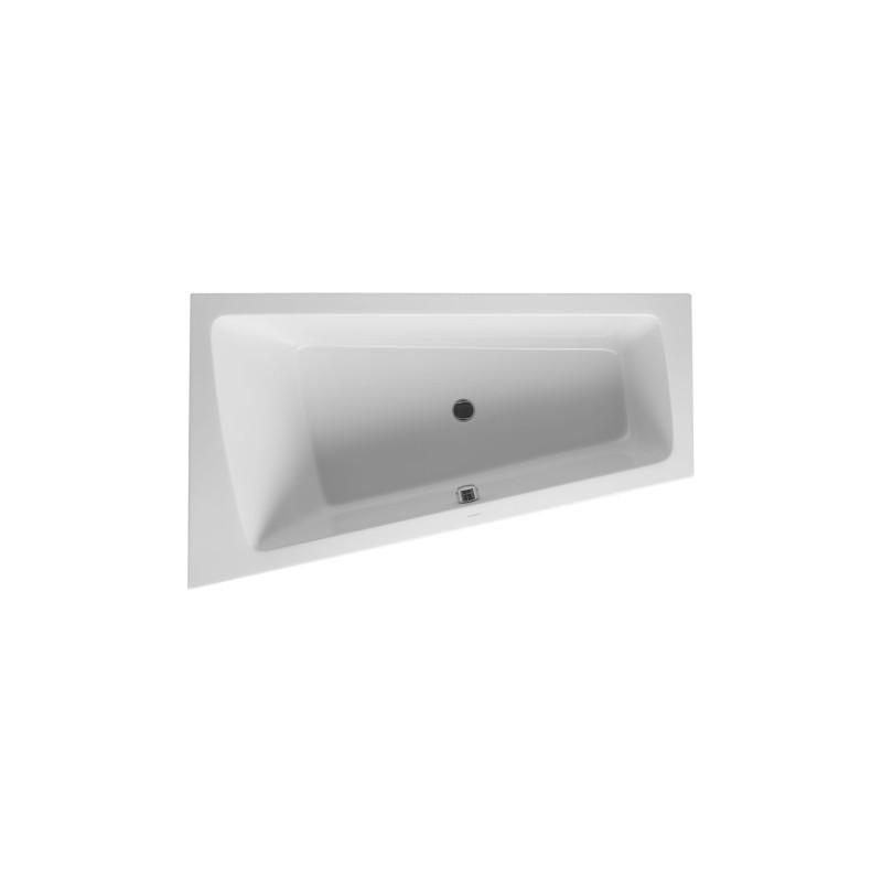 duravit baignoire paiova 1700x1000mm blanc angle a gauche avec structure habillage meuble. Black Bedroom Furniture Sets. Home Design Ideas