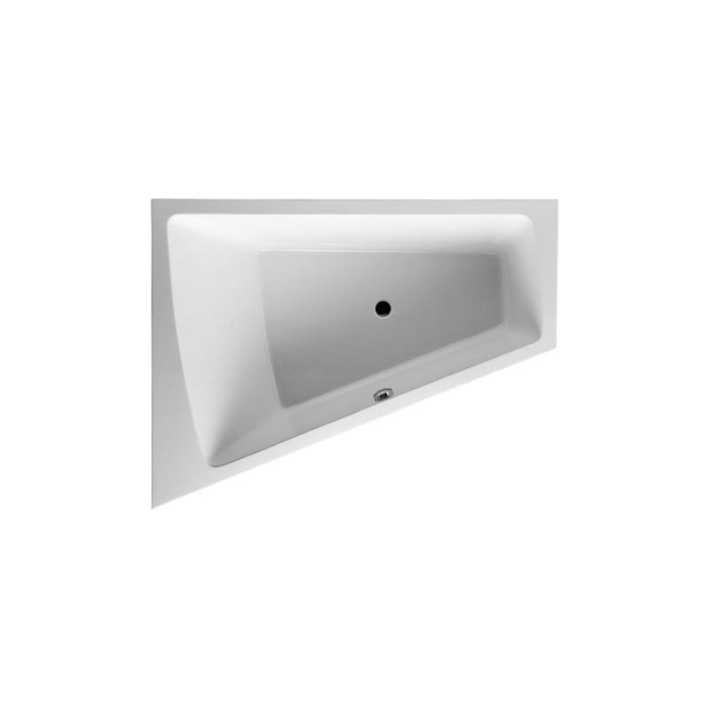 duravit baignoire paiova 1800x1400mm blanc angle a gauche avec structure habillage meuble. Black Bedroom Furniture Sets. Home Design Ideas