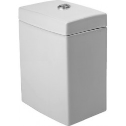 DURAVIT 2nd floor RESERVOIR EQUIPE 2ND FLOOR BLANC MEC.CHROME ECO.D'EAU 3/6L ALIM. LAT