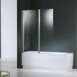 Novellini  aurora 2 2 paroi 120x150 cm verre trempe transparent  silver