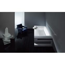 kaldewei baignoire acier maill avantgarde asymmetric duo 744 1900x1000mm 274400010001. Black Bedroom Furniture Sets. Home Design Ideas
