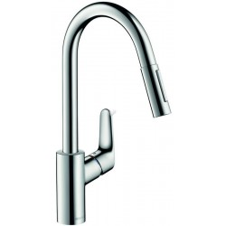 Hansgrohe Focus mitigeur.évier D extractable chr.
