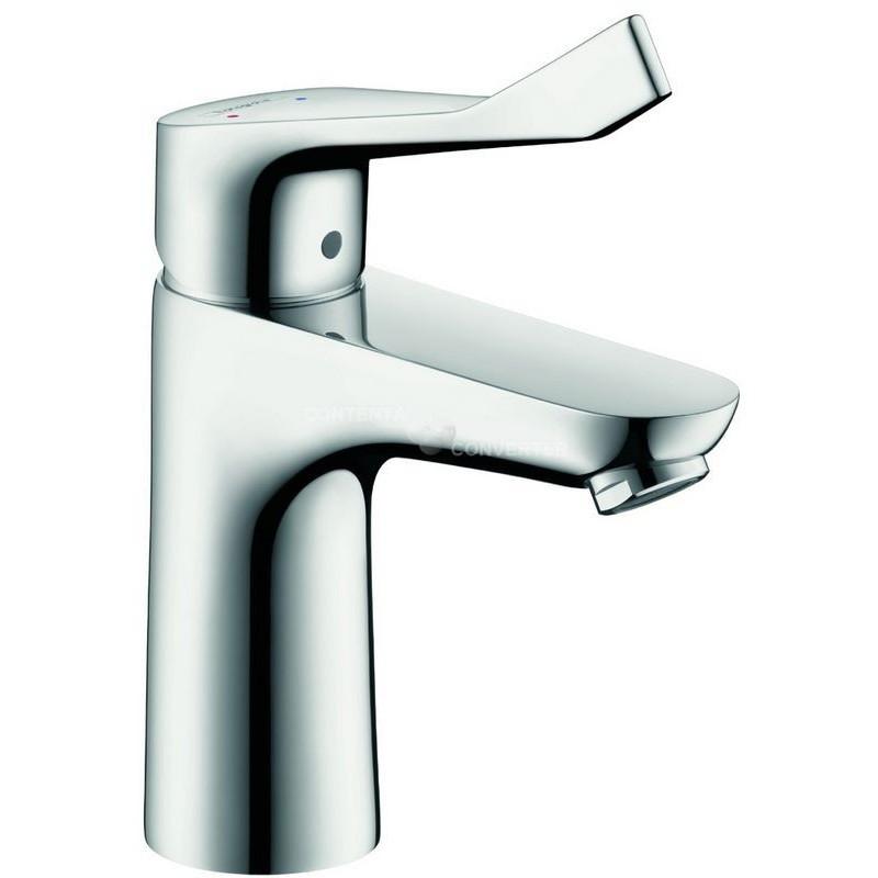 hansgrohe focus care 100 mitigeur lavabo chrom 31911000. Black Bedroom Furniture Sets. Home Design Ideas