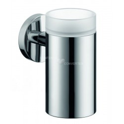 Hansgrohe Logis porte-verre brushed nickel