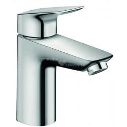 Hansgrohe Logis mitigeur lavabo 100 Push-O.chr.