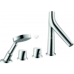 Axor Hansgrohe Starck Org.SF 4T Mont.Bord Baign.Chr.