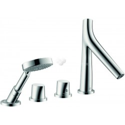 Axor Hansgrohe Starck Organic SF 4T Mont.Plage Carre