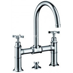 Axor Hansgrohe Montreux Mél.3T Pont Nickel Poli