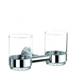 Porte-verre double
