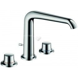 Axor Hansgrohe Bouroullec 3 gats WTM 195 chroom