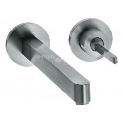 XX Steel mitigeur.lavabo enc.bec 160mm