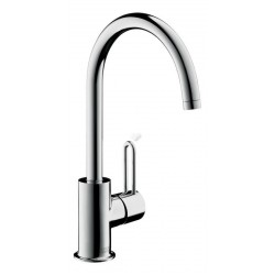 Axor Hansgrohe mitigeur lavabo Uno 2 haut bec chr.