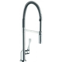 Axor Hansgrohe mitigeur.Evier Citterio SemiPro steel ef