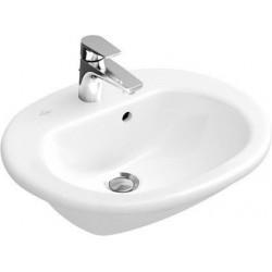 Villeroy & Boch O.novo Vasque semi-encastrée Blanc CeramicPlus