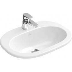 Villeroy & Boch O.novo Vasque à encastrer Blanc CeramicPlus
