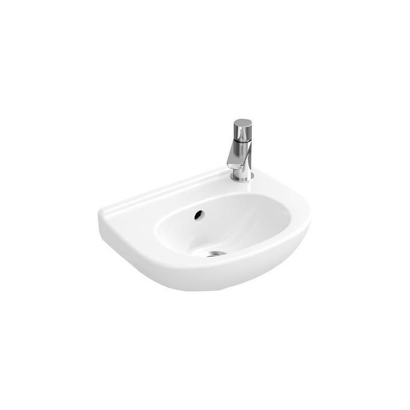 villeroy boch lave mains compact blanc ceramicplus 536036r1. Black Bedroom Furniture Sets. Home Design Ideas